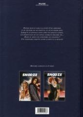 Verso de Snooze -1- Le grand sommeil