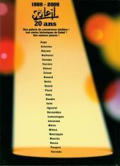 Verso de Soleil (Divers) - Soleil 20 ans