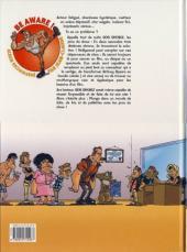 Verso de SOS Shobiz -1- Les pros du show