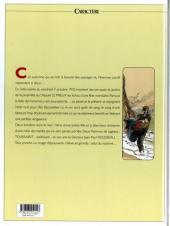 Verso de Souvenirs de Toussaint -8- Bleu au revoir