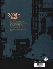 Verso de Spaghetti Brothers (Version en couleur) -1- Tome 1