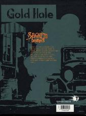 Verso de Spaghetti Brothers (Version en couleur) -3- Tome 3