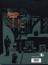 Verso de Spaghetti Brothers (réédition en 16 tomes) -4- Tome 4