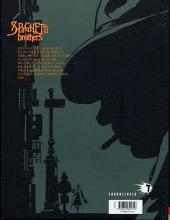 Verso de Spaghetti Brothers (réédition en 16 tomes) -6- Tome 6