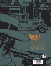 Verso de Spaghetti Brothers (Version en couleur) -8- Tome 8