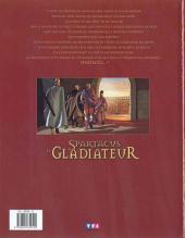 Verso de Spartacus le gladiateur -1- Morituri te salutant...