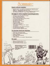 Verso de (Recueil) Spirou (Album du journal) -184- Spirou album du journal
