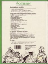Verso de (Recueil) Spirou (Album du journal) -186- Spirou album du journal