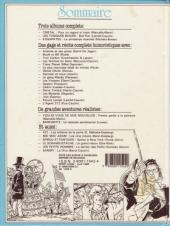 Verso de (Recueil) Spirou (Album du journal) -189- Spirou album du journal