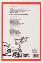 Verso de (Recueil) Spirou (Album du journal) -228- Spirou album du journal