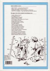 Verso de (Recueil) Spirou (Album du journal) -237- Spirou album du journal