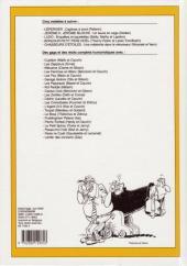 Verso de (Recueil) Spirou (Album du journal) -254- Spirou album du journal