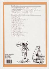 Verso de (Recueil) Spirou (Album du journal) -255- Spirou album du journal