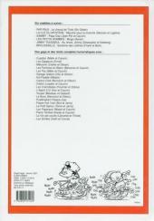 Verso de (Recueil) Spirou (Album du journal) -257- Spirou album du journal