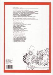Verso de (Recueil) Spirou (Album du journal) -258- Spirou album du journal