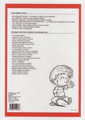 Verso de (Recueil) Spirou (Album du journal) -298- Spirou album du journal