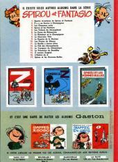 Verso de Spirou et Fantasio -7a66- Le dictateur et le champignon