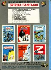 Verso de Spirou et Fantasio -8a64- La mauvaise tête