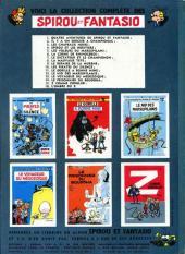 Verso de Spirou et Fantasio -16- L'ombre du Z