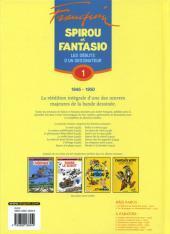 Verso de Spirou et Fantasio -6- (Int. Dupuis 2) -1- Les débuts d'un dessinateur