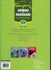 Verso de Spirou et Fantasio -6- (Int. Dupuis 2) -4- Aventures modernes