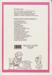 Verso de (Recueil) Spirou (Album du journal) -216- Spirou album du journal