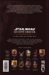 Verso de Star Wars - Le côté obscur -10- La Ballade de Jango Fett