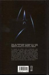 Verso de Star Trek (Delcourt) -1- Star Trek - Compte à rebours