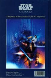Verso de Star Wars -2- Épisode II - L'attaque des clones