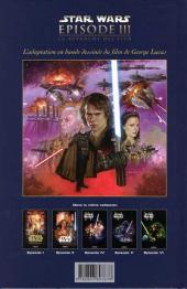 Verso de Star Wars -3- Épisode III - La revanche des Sith