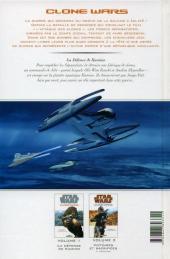 Verso de Star Wars - Clone Wars -1- La défense de Kamino