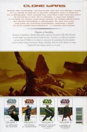 Verso de Star Wars - Clone Wars -2- Victoires et sacrifices