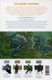 Verso de Star Wars - Clone Wars -3- Dernier combat sur Jabiim