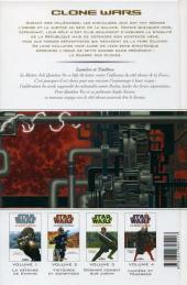 Verso de Star Wars - Clone Wars -4- Lumière et Ténèbres