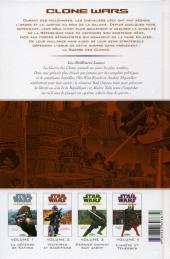 Verso de Star Wars - Clone Wars -5- Les meilleures lames