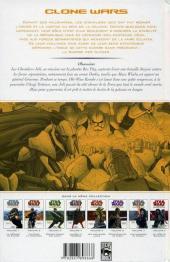 Verso de Star Wars - Clone Wars -8- Obsession