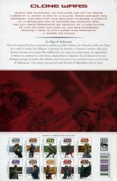 Verso de Star Wars - Clone Wars -9- Le siège de Saleucami