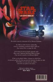 Verso de Star Wars - Le côté obscur -2- Dark Maul