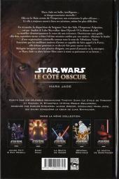 Verso de Star Wars - Le côté obscur -6- Mara Jade