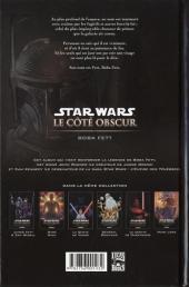 Verso de Star Wars - Le côté obscur -7- Boba Fett