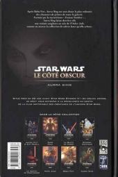 Verso de Star Wars - Le côté obscur -8- Aurra Sing