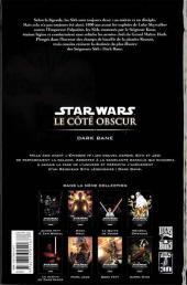 Verso de Star Wars - Le côté obscur -9- Dark Bane