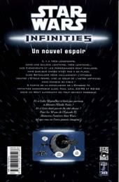 Verso de Star Wars - Infinities -1- Un nouvel espoir