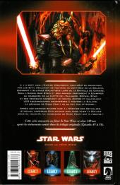 Verso de Star Wars - Legacy -4- Indomptable