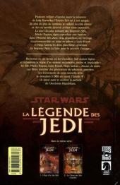 Verso de Star Wars - La légende des Jedi -1- L'âge d'or des Sith