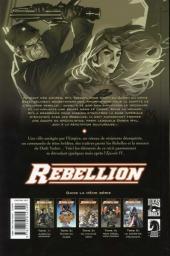 Verso de Star Wars - Rébellion -5- Le Sacrifice d'Ahakista