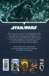 Verso de Star Wars - Chevaliers de l'Ancienne République -3- Au cœur de la peur