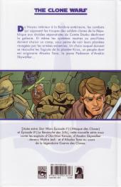 Verso de Star Wars - The Clone Wars -1- Mission 1 : Esclaves de la République