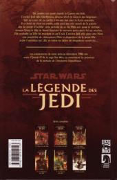 Verso de Star Wars - La légende des Jedi -6- Rédemption
