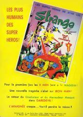 Verso de Strange -21- Strange 21